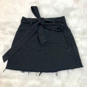 BDG Button and tie skirt